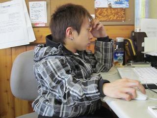 集中しているigarashiさん