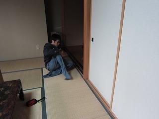 修復・復元施工中のkawamura