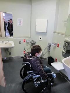 身障者用トイレ検証