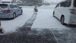 除雪しなきゃ・・・