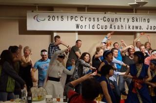 海外選手のダンス