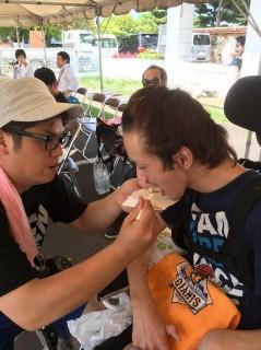 下田さんまつりを楽しむ